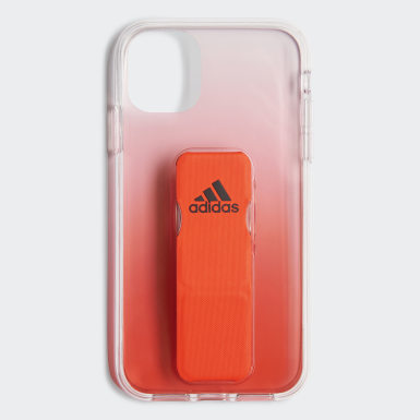 Running Orange Clear Grip Case iPhone 11