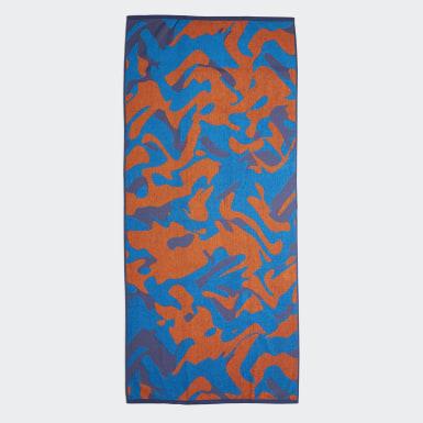 Schwimmen adidas Handtuch Blau