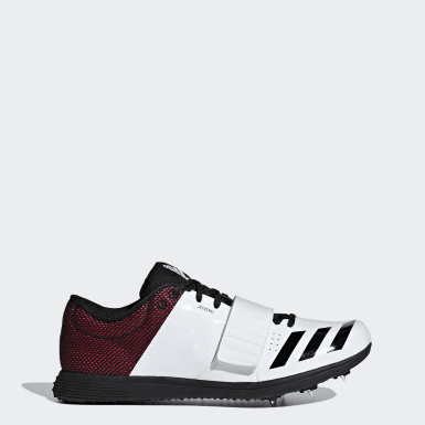 Track & Field White adizero Triple Jump / Pole Vault Spikes
