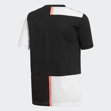 Jungen Fußball Juventus Turin Heimtrikot Schwarz