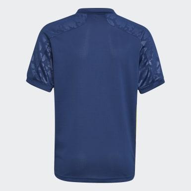 Camisola do Terceiro Equipamento 20/21 do Olympique Lyonnais Azul Criança Futebol