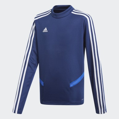 Youth 8-16 Years Training Blue Tiro 19 Training Top