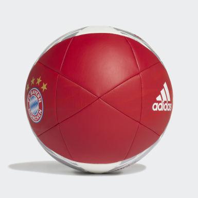 Bola FC Bayern Capitano Vermelho Futebol