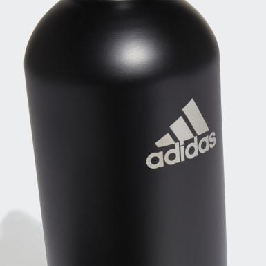 Botella Hidratante Acero 0,75 litros Negro Training