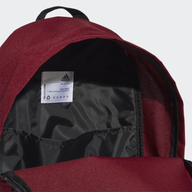 Training Burgundy Classic 3-Stripes Backpack