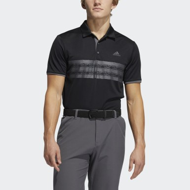 Men Golf Black Core Polo Shirt
