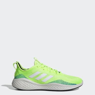 ผู้ชาย วิ่ง สีเขียว รองเท้า Fluidflow