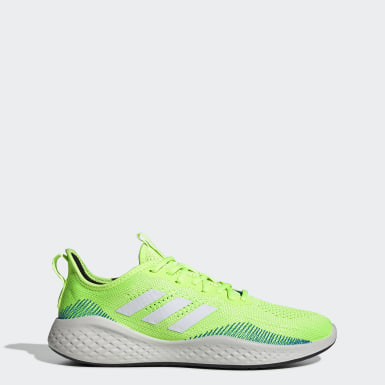 Men Running Green Fluidflow Shoes