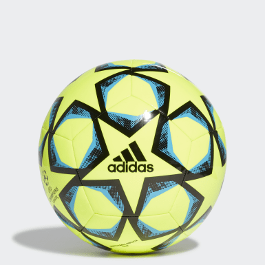 Men Football Yellow UCL Finale 20 Club Ball