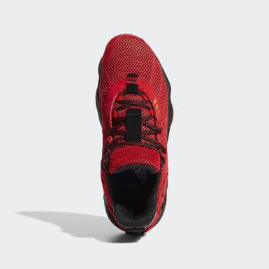 Dame 7 CNY Shoes Czerwony