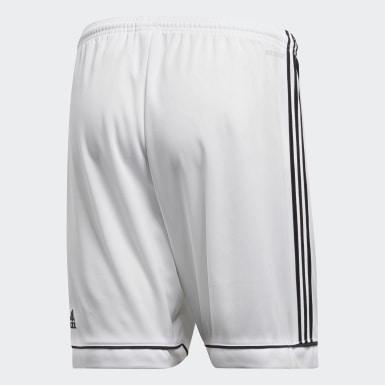 ผู้ชาย ฟุตบอล สีขาว กางเกงขาสั้น Squadra 17