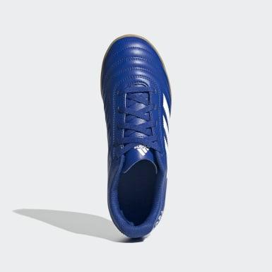 Chuteira Copa 20.4 Futsal Azul Meninos Futebol