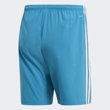 Heren Voetbal Blauw Condivo 18 Short