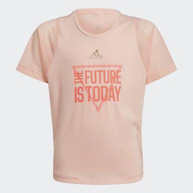 розовый Футболка для фитнеса The Future Today AEROREADY