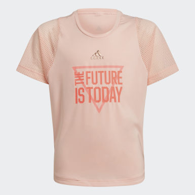 T-shirt AEROREADY The Future Today Rosa Raparigas Treino