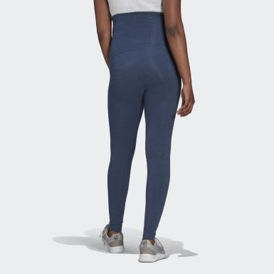 Frauen Athletics Essentials Cotton Tight – Umstandsmode Blau