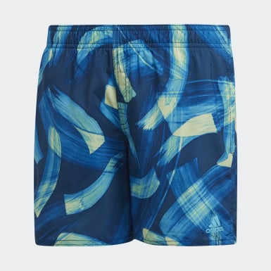 545ce840e3 Parley Swim Shorts. Recycled Materials. Boys Swimming