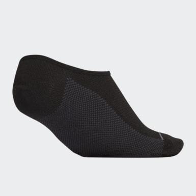 Men Training Black Superlite Stripe 2 Super-No-Show Socks 3 Pairs