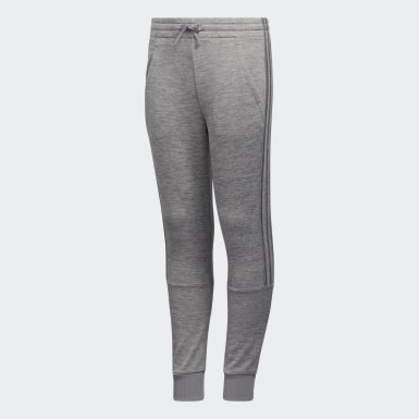Youth Training Grey Badge of Sport Fleece Joggers