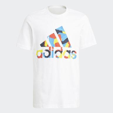 Camiseta adidas x Classic LEGO® Estampada Blanco Niño Training