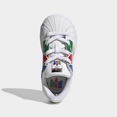 Tenis Superstar Pure (UNISEX) Blanco Niño Originals