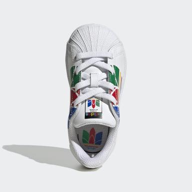 Zapatillas Superstar Pure (UNISEX) Blanco Niño Originals