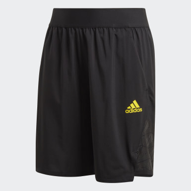 Boys Training Black Football-Inspired Predator Shorts
