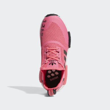 Youth Originals Pink NMD_R1 Shoes