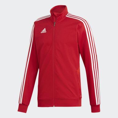 Veste d'entraînement Tiro 19 rouge Hommes Soccer