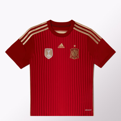 Camiseta Titular de Fútbol España Niños