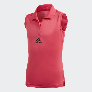 Meisjes Tennis Roze GIRLS MATCH TENNIS TANKTOP AEROREADY