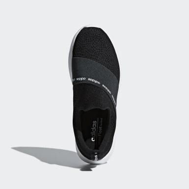 Women Sport Inspired Black Cloudfoam Refine Adapt Shoes