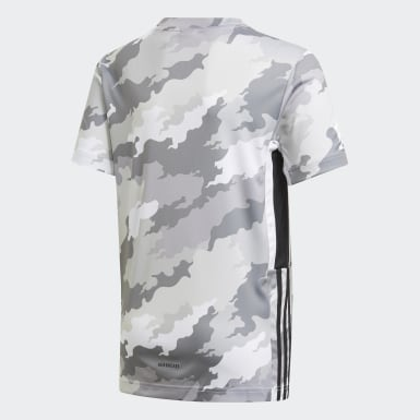 Youth Training White Bold AEROREADY Graphic Tee