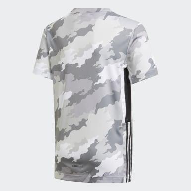 Camiseta Estampada Bold AEROREADY Branco Meninos Training