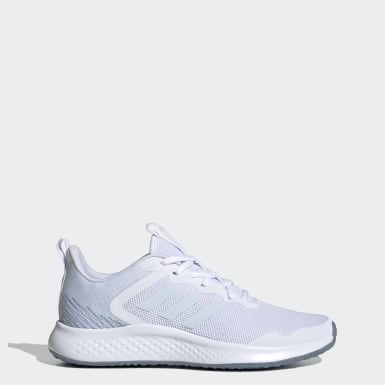 Women Running White Fluidstreet Shoes