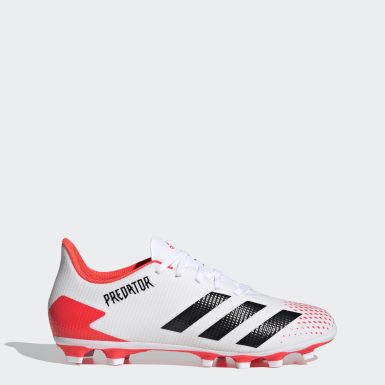 Football White Predator 20.4 Flexible Ground Boots