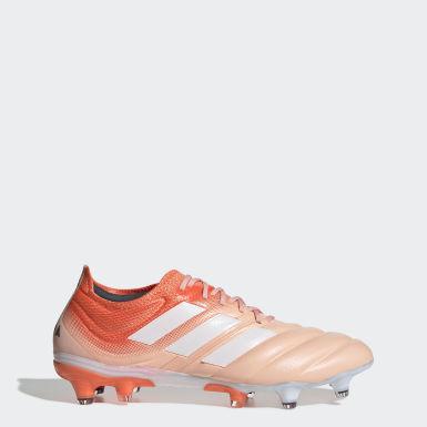 Fodbold Pink Copa 19.1 Firm Ground støvler