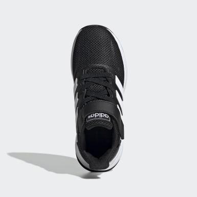 Çocuklar Koşu Black Run Falcon Ayakkabı