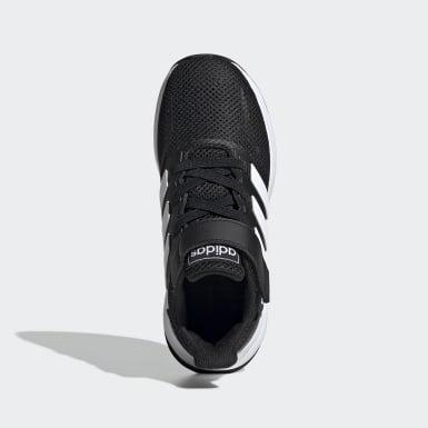 Kids 4-8 Years Running Black Run Falcon Shoes