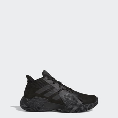 Youth Basketball Black Court Vision 2.0 Shoes