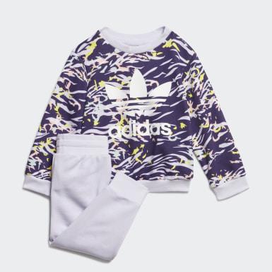 Mädchen Originals Sweatshirt-Set Lila