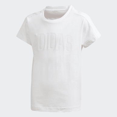 Youth Training White Bold 2 Tee