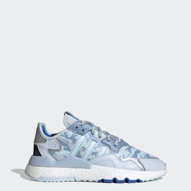 Sapatos Nite Jogger Azul Mulher Originals