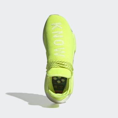 Originals Yellow Pharrell Williams Hu NMD Shoes