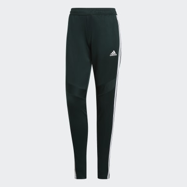Women Soccer Green Tiro 19 Training Pants