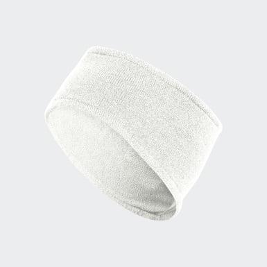 Men's Training White Earband