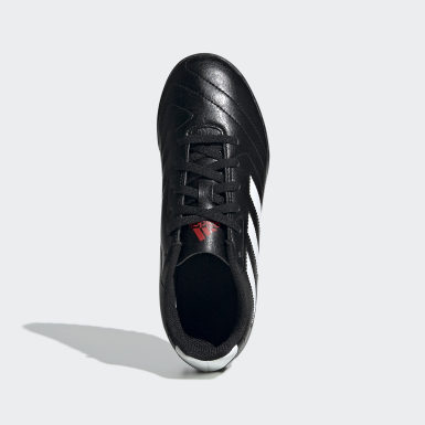Children Soccer Black Goletto VII Turf Shoes