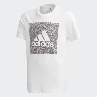 Must Haves Badge of Sport T-skjorte Hvit