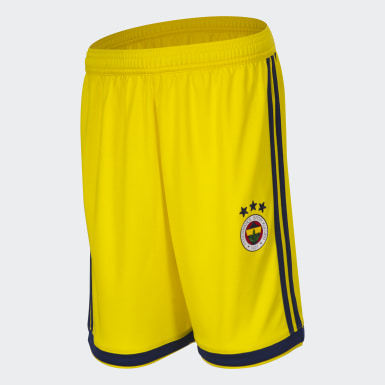 Youth Football Yellow Regista 18 Shorts