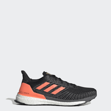 Men Running Black Solarboost ST 19 Shoes